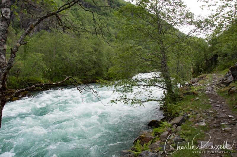 Mørkridsdalen valley