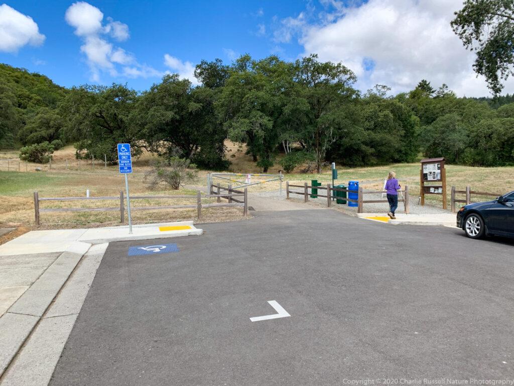Clover Springs Preserve trailhead/parking