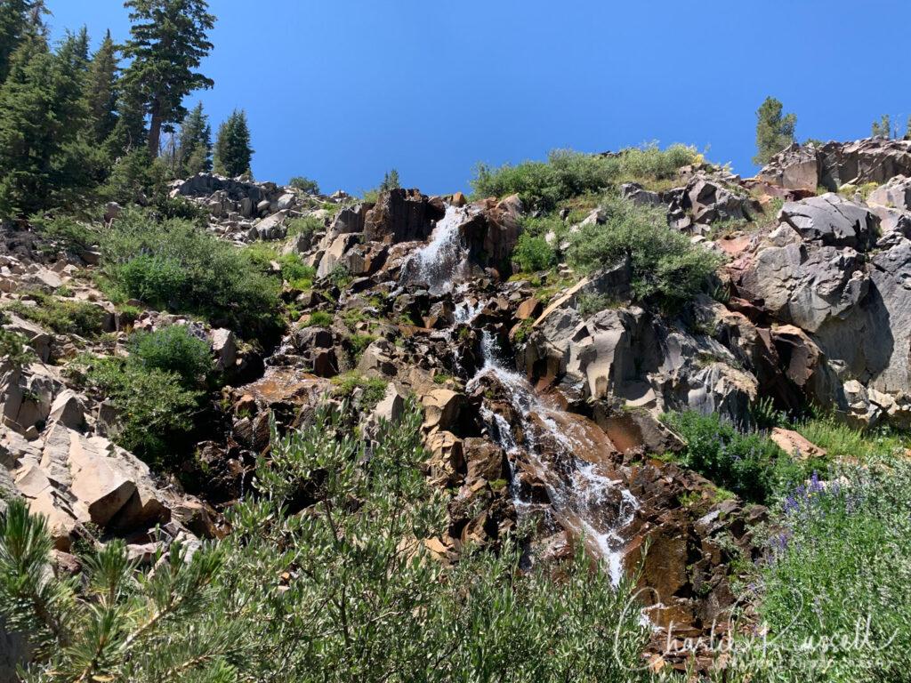 Galena Falls trail