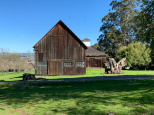 Burdell barns at Olompali State Historic Park
